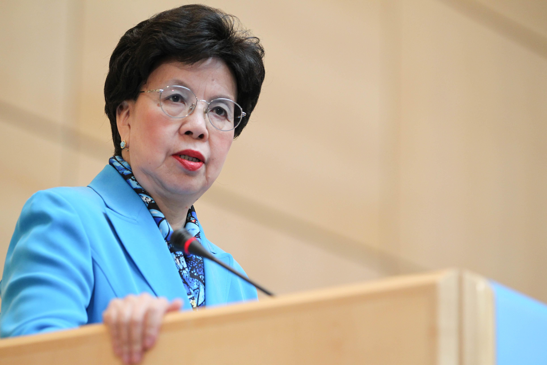 WHOs generaldirektør Dr. Margaret Chan